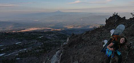 Mt. Adams | Jak se dostat nahoru a trochu jinak dolů