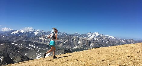 High Trail Vanoise: ME ve skyrunnunigu