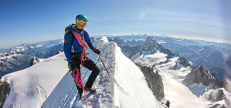 Tip na túru od Dannyho | Hřeben Kuffner na Mont Maudit