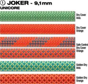 Beal Joker 9,1mm Unicore Dry Cover 80m