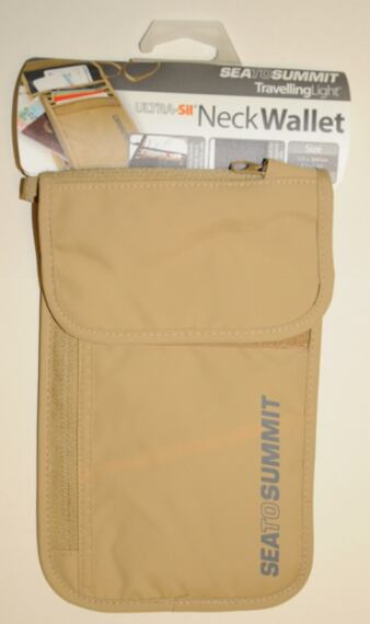 Sea to Summit TL Neck Wallet sand/grey