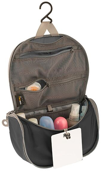 Sea to Summit TL Hanging Toiletry Bag L black/grey