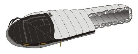 Warmpeace spacák Viking 600 Wide (180cm)