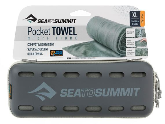 Sea to Summit Pocket Towel XLarge grey