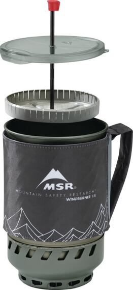 MSR Windburner 1.8L Coffee Press Kit