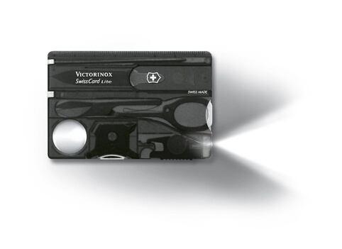 Victorinox SwissCard Lite šedá průhledná