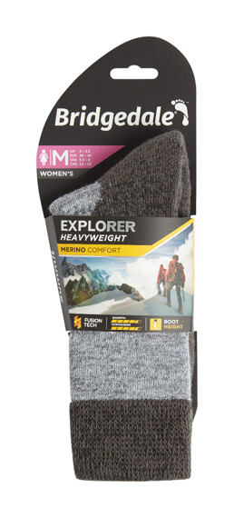 Bridgedale ponožky Explorer Heavyweight Merino Comfort Boot Women