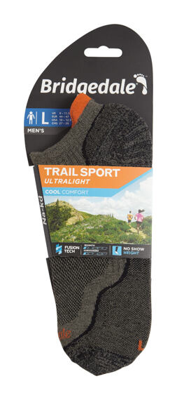Bridgedale Trailsport Ultra Light Cool Comfort No Show