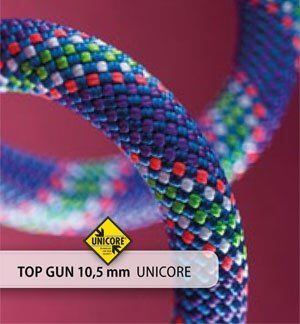 Beal Top Gun II 10,5mm Unicore Golden Dry 60m