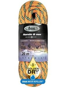 Beal Rando 8mm Golden Dry 48m