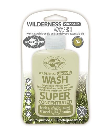 Sea to Summit Wilderness Citronella Wash 250ml.