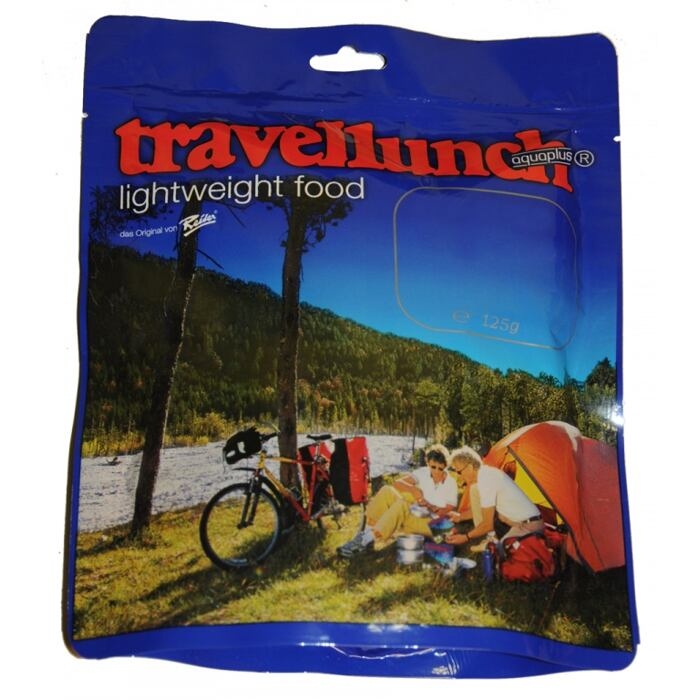 Travellunch Divoké houby s nudlemi Single