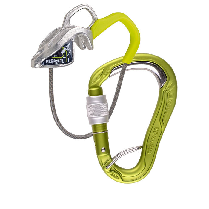 Edelrid Mega Jul Belay Kit Bulletproof Screw